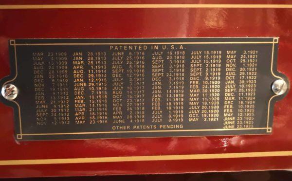 Lista brevetti Berkel B100